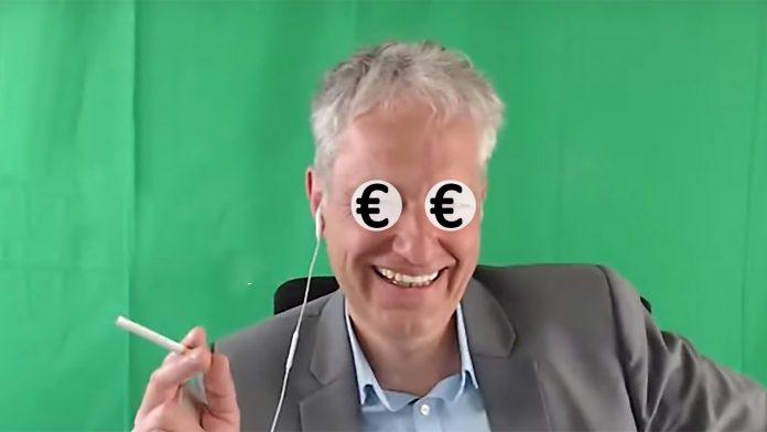 Digitaler Chronist - Statt Spenden Geld mit Fanshop - Thomas Grabinger