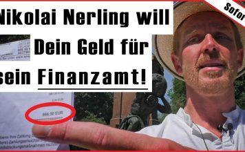 Nikolai Nerling Der Volkslehrer will das Spendenschafe seine Steuerschulden beim Finanzamt bezahlen Geld Schulden Spenden