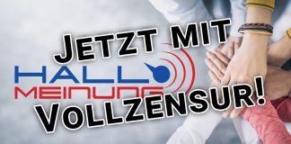 Kritik ist Sabotage - Peter Weber verkündet totale Zensur für HALLO MEINUNG Bürgerforum YouTube Facebook