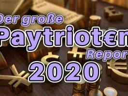 Paytrioten-Report 2020 - Alles über den Stand der alternativen Medienszene - Geldpatrioten Spenden Geld Patriot Widerstand AfD YouTube Superchat #GutePatrioten