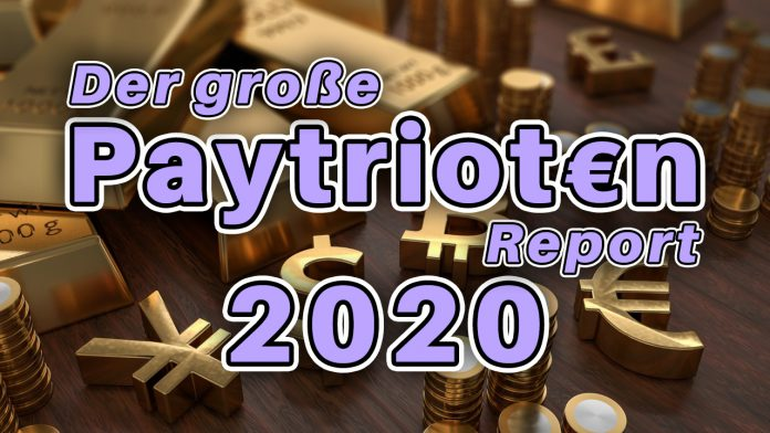 Paytrioten-Report 2020 - Alles über den Stand der alternativen Medienszene - Geldpatrioten Spenden Geld Patriot Widerstand AfD YouTube Superchat #GutePatrioten