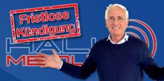 HALLO MEINUNG Mitglieder - Fördermitgliedschaft fristlos kündigen - Kündigung für Peter Weber