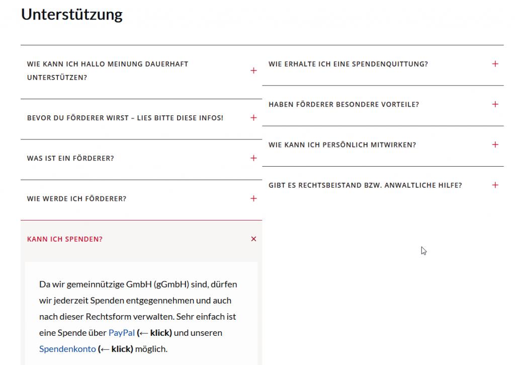 Peter Weber und die Antifa-Verschwörung - Die HALLO MEINUNG Diktatur - Homepage Spenden